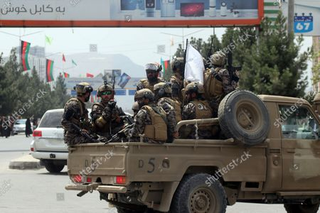 Editorial picture of Taliban-Equipment-Fact Focus, Kabul, Afghanistan - 31 Aug 2021