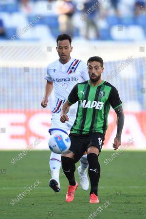 Francesco Caputo (Sassuolo) Maya Yoshida (Sampdoria)