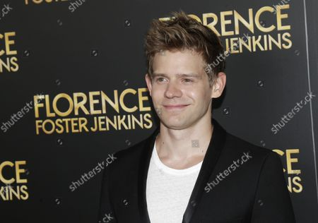 Andrew Keenan-Bolger arrives on the red carpet at the 'Florence Foster Jenkins' New York Premiere at AMC Loews Lincoln Square 13 Theater on August 9, 2016 in New York City.