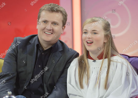 Aled Jones and Isabel Suckling
