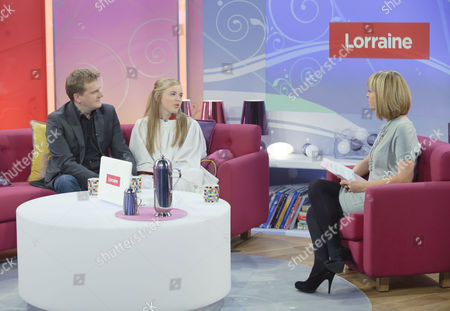 Aled Jones and Isabel Suckling with Kate Garraway.