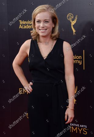 Actress Zandy Hartig attends the Creative Arts Emmy Awards at Microsoft Theater in Los Angeles on September 10, 2016.
