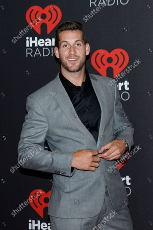 Reality Tv star Chase McNary arrives for the iHeartRadio Music Festival at the T-Mobile Arena in Las Vegas, Nevada on September 23, 2016.