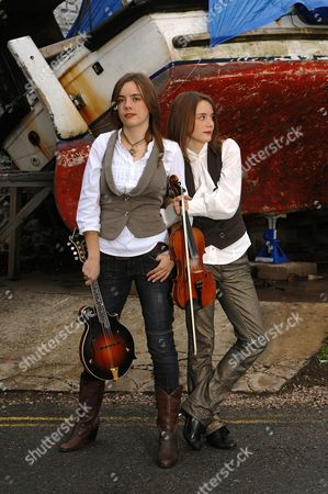 Stock Picture of Carrivick Sisters - Charlotte Carrivick and Laura Carrivick