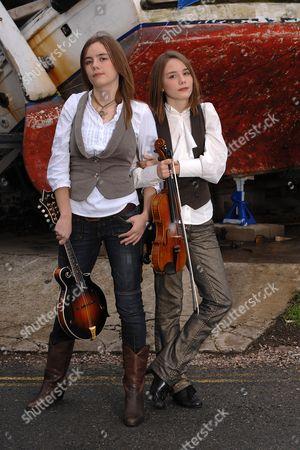 Editorial image of Carrivick Sisters, folk singers - 12th Jan 2008