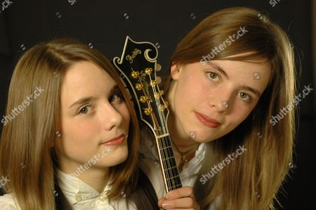 Stock Photo of Carrivick Sisters - Laura Carrivick and Charlotte Carrivick
