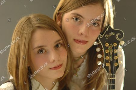 Stock Photo of Carrivick Sisters - Laura Carrivick and Charlotte Carrivick