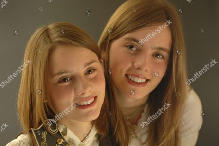 Stock Image of Carrivick Sisters - Laura Carrivick and Charlotte Carrivick