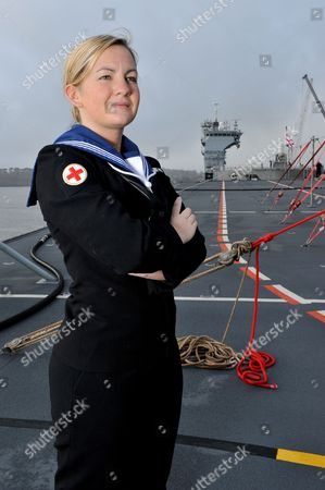 Stock Picture of Able Seaman, Kate Louise Nesbitt