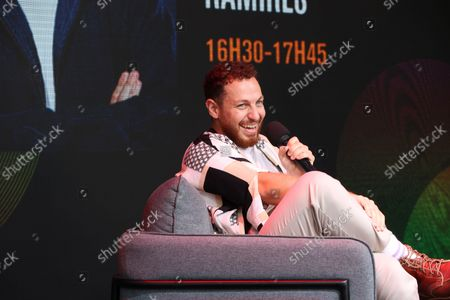Stock Photo of Alex Ramires await during the Fan Club of Series Mania Festival