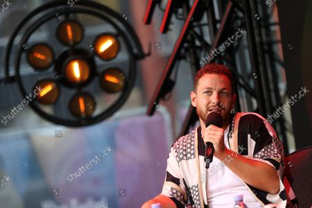 Stock Picture of Alex Ramires await during the Fan Club of Series Mania Festival