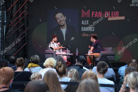 Stock Image of Alex Ramires await during the Fan Club of Series Mania Festival