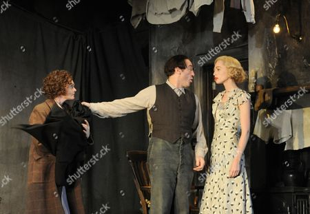 Editorial image of 'Men Should Weep' play at the Lyttelton Theatre, London, Britain - 25 Oct 2010