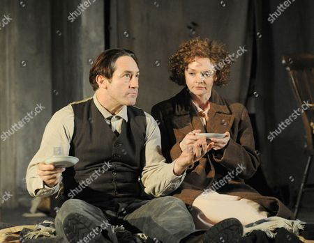 'Men Should Weep' - Robert Cavanah (John) and Sharon Small (Maggie)
