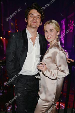 Edward Bluemel and Anais Gallagher
