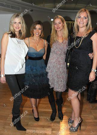 Donna Air, Dannii Minogue, Heidi Wichlinski and Tabitha Somerset Webb