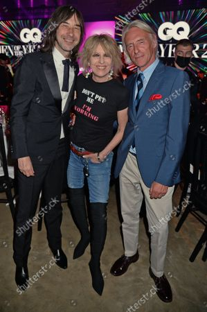 Bobby Gillespie, Chrissie Hynde and Paul Weller