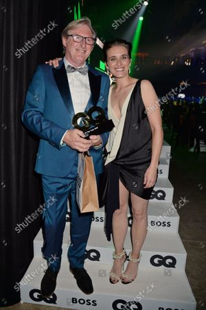 Adrian Dunbar winner of Television Actor of the Year and Vicky McClure