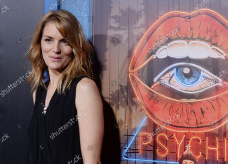"""Cast member Susan Misner attends the premiere of Hulu's television drama series """"Shut Eye"""" at the ArcLight Cinema Dome in the Hollywood section of Los Angeles on December 1, 2016. Storyline: Charlie Haverford is a scammer with a small chain of fortune-telling storefronts and contracts building tricks for a family that controls the business in the greater chunk of Los Angeles."""