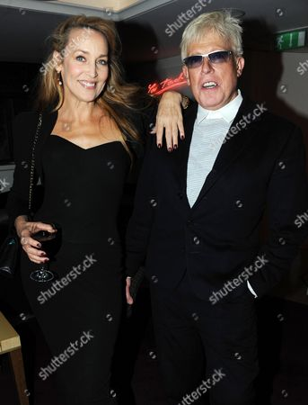 Jerry Hall and Anthony Price