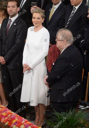 Editorial picture of Maria Clemencia Rodriguez de Santos attends the Nobel Peace Prize award ceremony in Oslo, Norway - 10 Dec 2016