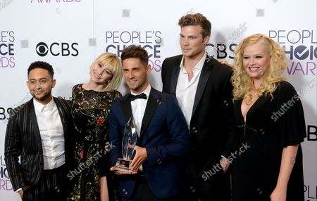 Editorial photo of People's Choice Awards, Los Angeles, California, United States - 19 Jan 2017