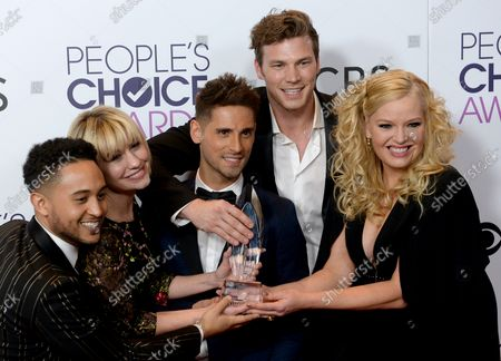 Editorial image of People's Choice Awards, Los Angeles, California, United States - 19 Jan 2017
