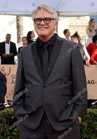 Michael Harney arrives for the the 23rd annual SAG Awards held at the Shrine Auditorium in Los Angeles on January 29, 2017. The Screen Actors Guild Awards will be broadcast live on TNT and TBS.