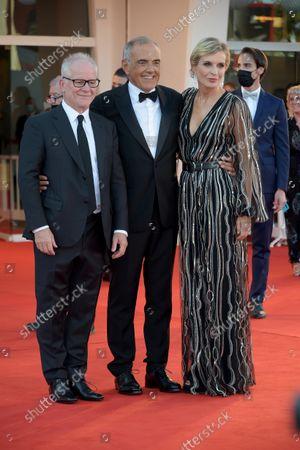 Alberto Barbera, Thierry Fremaux, Melita Toscan du Plantier