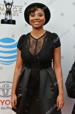 Writer Misha Green arrives for the 48th NAACP Image Awards at the Pasadena Civic Auditorium in Pasadena, California on February 11, 2017. The NAACP Image Awards celebrates the accomplishments of people of color in the fields of television, music, literature and film and also honors individuals or groups who promote social justice through creative endeavors.