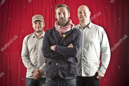 The Bees - Paul Butler, Aaron Fletcher and Tim Parkin