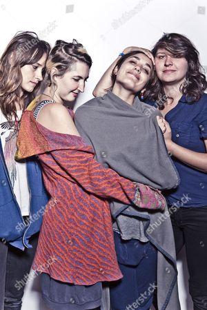 Warpaint - Theresa Wayman, Emily Kokal, Jenny Lee Lindberg and Stella Mozgawa