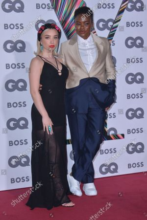 Nicola Adams and her girlfriend Ella Baig