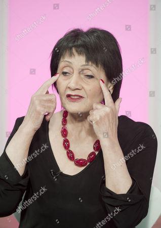 Facial exercise expert Eva Fraser aged 82