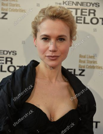 """Cast member Kristen Hager attends the screening of Reelz's """"The Kennedy's After Camelot"""" at the Paley Center for Media in Beverly Hills, California on March 15, 2017. Storyline: Portrays the life of the former First Lady of the United States, Jacqueline Kennedy in the aftermath of the assassination of her husband, President John Fitzgerald Kennedy, as she becomes Jackie O. in life after Camelot."""