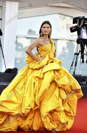 """Bianca Balti attends the red carpet of the movie """"Madres Paralelas"""" during the 78th Venice International Film Festival  on Wednesday, September 1, 2021 in Venice, Italy."""