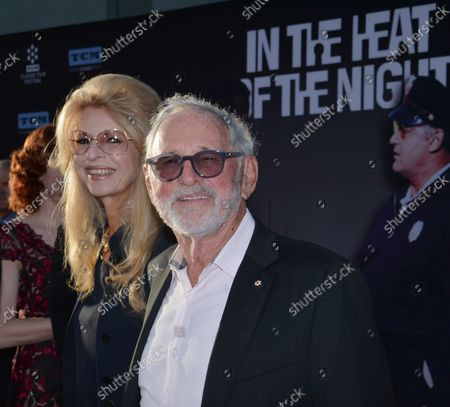 """Stock Image of Director Norman Jewison and his wife Lynne St. David attend the 50th anniversary screening of """"In the Heat of the Night"""" during opening night of the TCM Classic Film Festival at TCL Chinese Theatre in the Hollywood section of Los Angeles on April 6, 2017."""