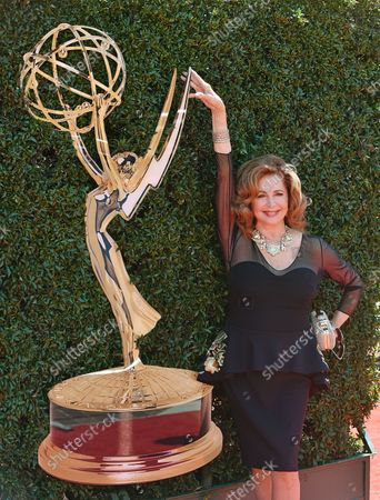 Suzanne Rogers arrives at the 44th Annual Daytime Emmy Awards at the Pasadena Civic Auditorium in Pasadena, California on April 30, 2017.