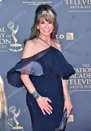 Stock Picture of Jess Walton arrives at the 44th Annual Daytime Emmy Awards at the Pasadena Civic Auditorium in Pasadena, California on April 30, 2017.