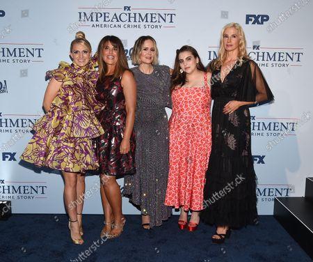 Annaleigh Ashford, Mira Sorvino, Monica Lewinsky, Beanie Feldstein, Sarah Paulson