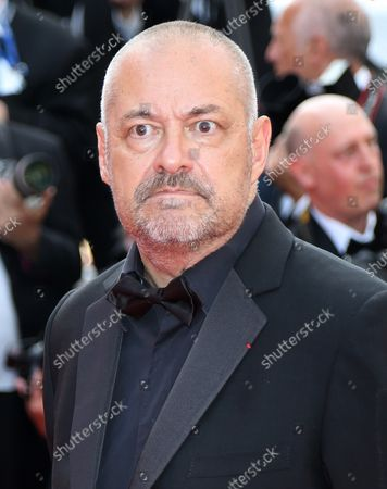 Jean-Pierre Jeunet arrives on the red carpet celebrating the 70th anniversary of the Cannes International Film Festival in Cannes, France on May 23, 2017.