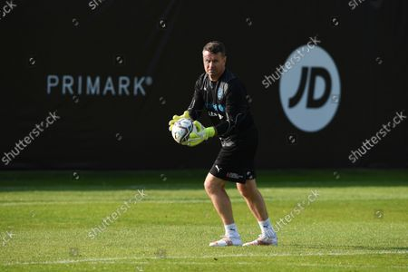 Shay Given of World XI during a training session for Soccer Aid for UNICEF 2021.