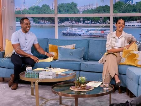 Stock Image of Andi Peters, Rochelle Humes