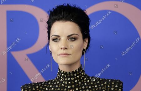 Jaime Alexander arrives on the red carpet at the 2017 CFDA Fashion Awards at the Hammerstein Ballroom on June 5, 2017 in New York City.