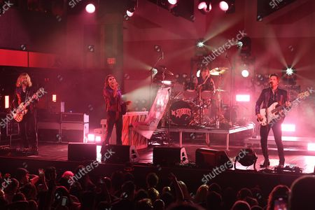 Editorial photo of The Struts in concert at Revolution Live, Fort Lauderdale, Florida, USA - 01 Sep 2021