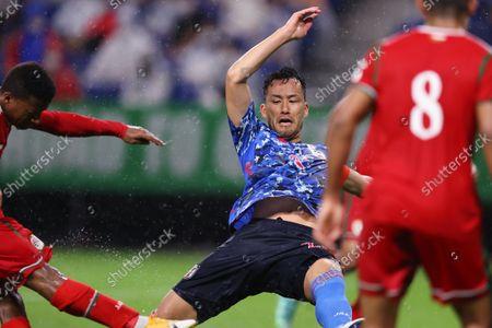Maya Yoshida (JPN) - Football / Soccer :  FIFA World Cup Qatar 2022 Asian Qualifier Final Round Group B match  between Japan 0-1 Oman  at Panasonic Stadium Suita in Osaka, Japan.
