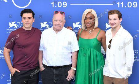 Paul Schrader, Oscar Isaac, Tiffany Haddish, Tye Sheridan
