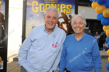 Stock Photo of Richard Donner and Mike Fenton