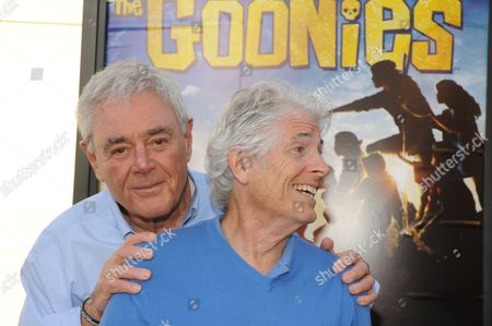Stock Picture of Richard Donner and Mike Fenton