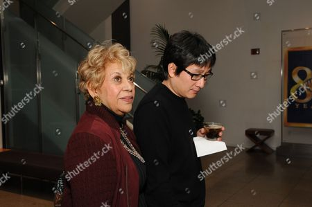 Stock Picture of Lupe Ontiveros and Jonathan Ke Quan